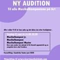 Audition Musikalkompanier