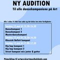 Audition Dansekompanier
