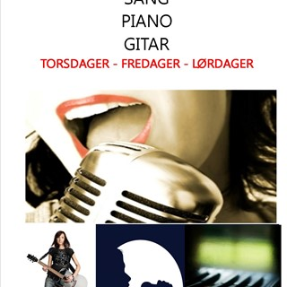Private timer i Sang- Piano - Gitar