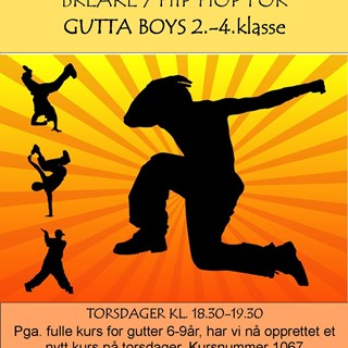Nytt kurs for Gutta Boys